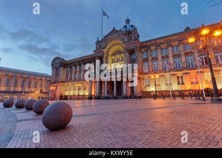Birmingham, UK Council House Banque D'Images