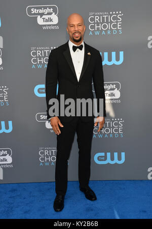 Santa Monica, Californie, USA. Jan 11, 2018. À la 23e assemblée annuelle commune Critics' Choice Awards au Barker Banque D'Images