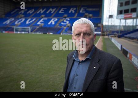 Mark Palios, Président exécutif de Tranmere Riovers, photographié à l'club Prenton Park Stadium. Palios était un Banque D'Images