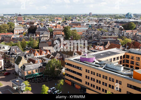 Abri international dans la ville de Leeuwarden, Pays-Bas. Leeuwarden est une capitale européenne de la Culture en Banque D'Images