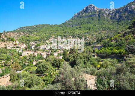 Village de Deia, Deia, Mallorca, Iles Baléares, Espagne, Europe Banque D'Images