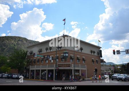 La vieille ville historique de West New Rochester hotel à Durango Colorado États-Unis Banque D'Images