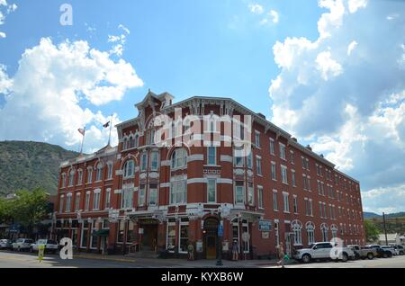 L'historique old west hotel strater à Durango colorado USA Banque D'Images