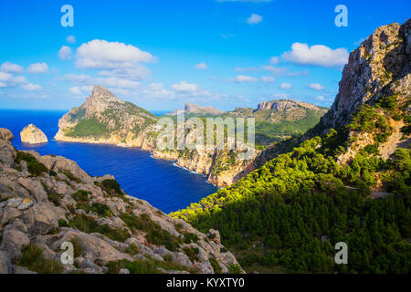 Cap de Formentor, Majorque, Iles Baléares, Espagne, Europe Banque D'Images