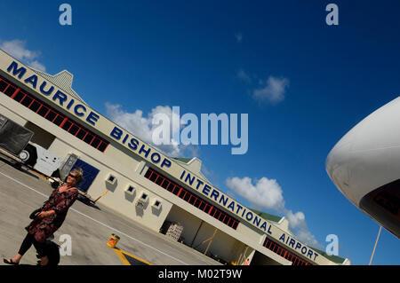 L'aéroport international Maurice Bishop, Grenade, Caraïbes