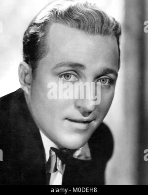 Bing Crosby (1903-1977), la publicité photo de la chanteuse américaine des années 1930