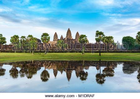 Angkor Wat Banque D'Images