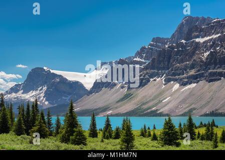 Canadian Rockies Banque D'Images
