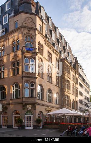 Allemagne, Cologne, le Café Reichard, près de la cathédrale Deutschland, Koeln, das Cafe Reichard am Dom.