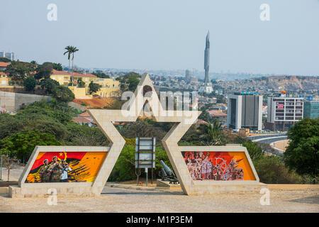 Fortaleza de Sao Miguel (St. Michael forteresse), Luanda, Angola, Afrique du Sud Banque D'Images