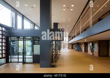 Bonn, Regierungsviertel (Bundesviertel, Parlamentsviertel Abgeordnetenhochhaus, Ehemaliges) žLanger Eugenâ «€œ, Egon Eiermann erbaut von 1966-1969, il