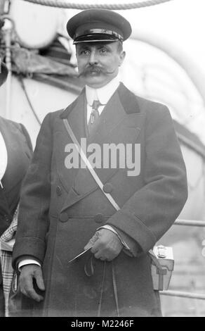 Louis Blériot, aviateur français Louis Blériot (1872-1936) Banque D'Images