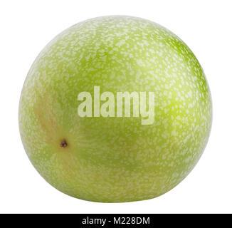Fruit de la passion isolé. Maracuya isolé sur fond blanc avec clipping path Banque D'Images