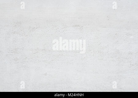Grunge texture béton brut blanc mur à l'arrière-plan Banque D'Images