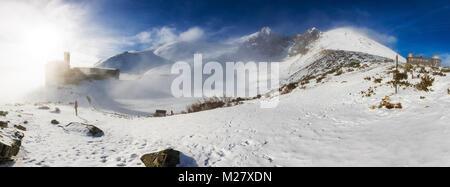 Skalnate tarn et Pic Lomnicky, célèbre destinations en hautes montagnes Tatras, Slovaquie, Europe centrale