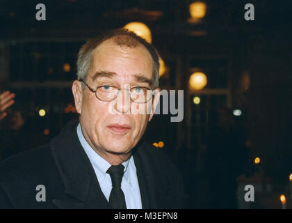 JÖRN DONNER écrivain Finlandais de langue suédoise a entre autres été directeur de l'Agence suédoise de FilmInstituet Banque D'Images