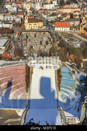 INNSBRUCK, Autriche - 27 janvier: (NOTE DU RÉDACTEUR: la latitude d'exposition de cette image a été numériquement Banque D'Images