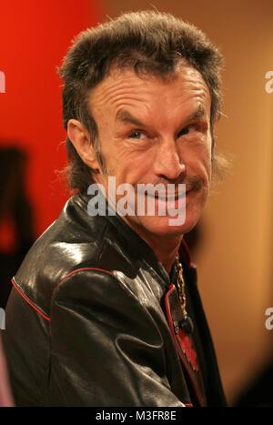 Aktuelle Schaubude vom 03.03.2006, Ex-Box-Profi René Weller verklagt Guenther Jauch. Senneur en Fernsehsendung 'Wer Banque D'Images