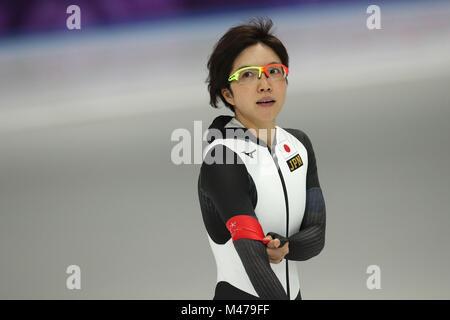 Gangneung, Corée du Sud. Feb 14, 2018. Nao Kodaira (JPN) Patinage de vitesse: 1 000 m à Gangneung, au cours de Banque D'Images
