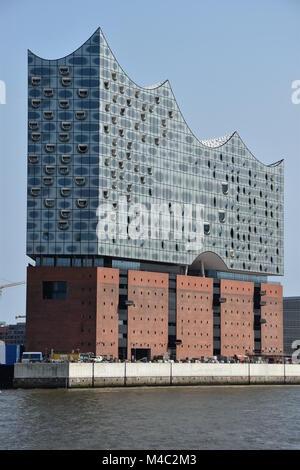 Salle de Concert Elbphilharmonie à Hambourg, Allemagne