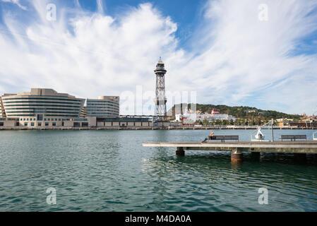 La Rambla del Mar à Barcelone