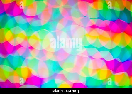 - Flou artistique flou flou abstrait flou d'arrière-plan coloré aux tons lumineux. Les cercles de couleur. Multi Banque D'Images