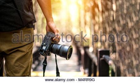 Concepts de la photographie de nature photographe professionnel Banque D'Images