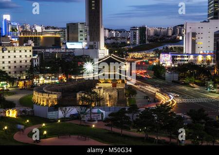 Heunginjimun à Séoul Banque D'Images
