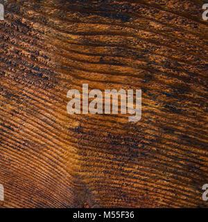 Fond de bois recouvert de teinture et de vernis Banque D'Images