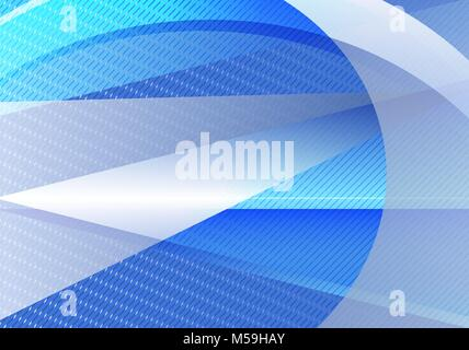 Résumé fond bleu et gris et triangle vecteur ligne droite Banque D'Images