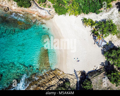 Galley Bay Beach, Antigua Banque D'Images