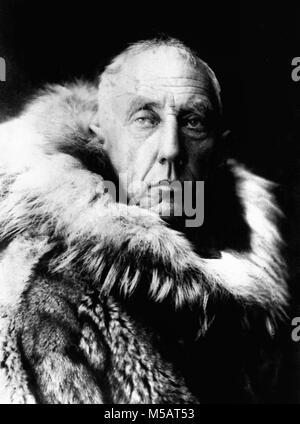 Roald Amundsen, Roald Engelbregt Gravning Amundsen (1872 - 1928) l'explorateur norvégien des régions polaires Banque D'Images