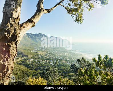 L'Afrique du Sud, Western Cape, Lion's Head, Cape Town Banque D'Images