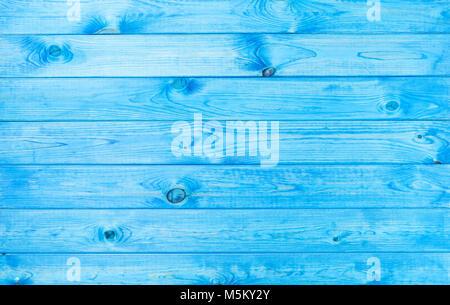 Texture de fond en bois bleu avec des modèles naturels