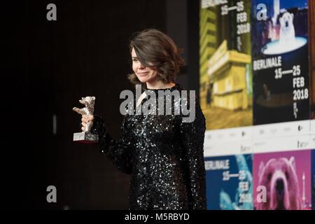 Berlin, Allemagne. Feb 24, 2018. Tapis rouge gala final avant 2018, 68 Berlinale. Credit: Beata Siewicz/Pacific Press/Alamy Live News