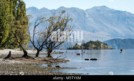Lake Wanaka, île du Sud, Nouvelle-Zélande