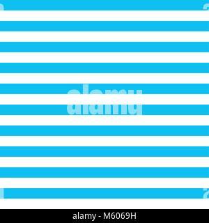 Rayé bleu fond vecteur avec des lignes horizontales. Banque D'Images