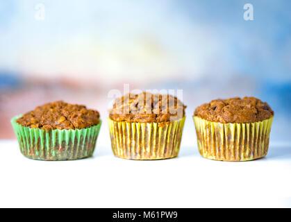 Délicieux muffins faits maison saine Banque D'Images