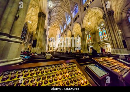La Cathédrale St Patrick Manhattan - New York, New York, USA