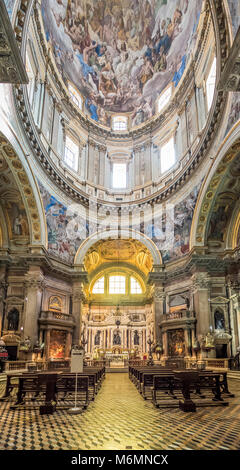 La Cathédrale de Naples, Italie Banque D'Images