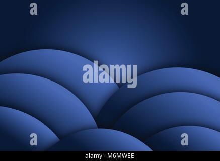 Couche de fond bleu résumé géométrique pour la carte, rapport annuel, modèle d'affiche Banque D'Images