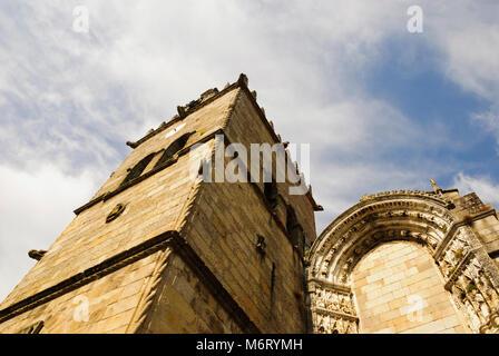 Église de Guimaraes, Portugal Banque D'Images