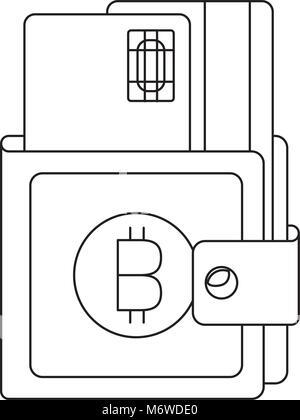 Portefeuille avec cartes de crédit Banque D'Images