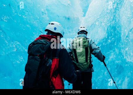 Cascade de glace au glacier Exit