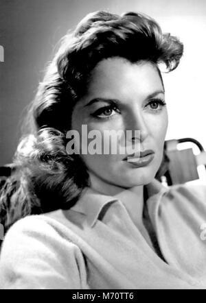JULIE LONDON (1926-2000) chanteuse et actrice du film à propos de 1958