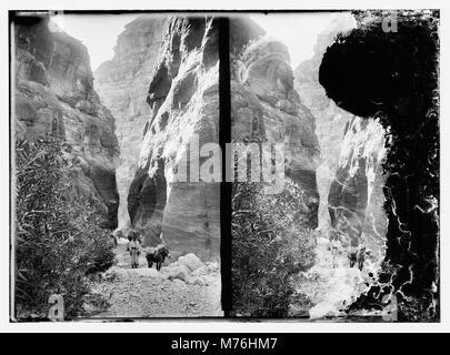 Petra, Sik matpc entrée LOC.09432 Banque D'Images