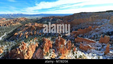 Bryce Canyon en hiver.