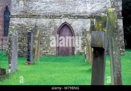 L'église paroissiale de St Mary Magdalene, Eardisley, Herefordshire, Angleterre Banque D'Images