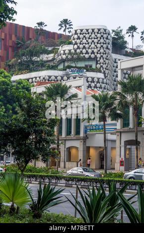 Le centre commercial de Bugis et à Singapour. Banque D'Images