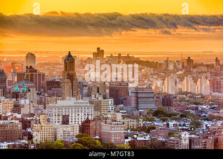 Brooklyn, New York, USA cityscape sur le centre-ville en fin d'après-midi.